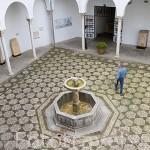 Patio del Museo Arqueologico y Etnografico, Casa Castril. Ciudad de GRANADA. Andalucia. España
