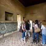 Interior de la sala del Mexuar, posiblemente construida por Ismail I (1314-1325). La Alhambra. GRANADA. Andalucia. España