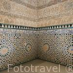 Interiores de la Torre de La Cautiva. La Alhambra, UNESCO. Ciuda de GRANADA. Andalucia. España