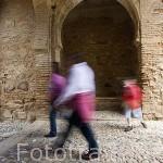 La Puerta del Vino, periodo de Muhammad III, daba acceso a la Medina de La Alhambra, UNESCO. Ciudad de GRANADA. Andalucia. España