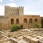 El recinto militar de la Alcazaba y residencias de la guardia de elite del sultán. La Alhambra, UNESCO. Ciudad de GRANADA. Andalucia. España