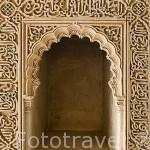 Taca. Interior de la Torre de La Cautiva. La Alhambra, UNESCO. Ciuda de GRANADA. Andalucia. España