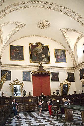 Interior de la catedral. Ciudad de GRANADA. Andalucia. España