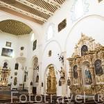 Interior. Iglesia del Salvador. Barrio del Albaycin. Ciudad de GRANADA. Andalucia. España