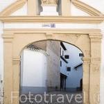 Monasterio de Santa Isabel La Real. Barrio del Albaycin. Ciudad de GRANADA. Andalucia. España