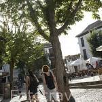 Plaza de San Miguel Bajo. Barrio del Albaycin. Ciudad de GRANADA. Andalucia. España