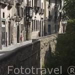 Carrera del Darro. Barrio del Albaycin. Ciudad de GRANADA. Andalucia. España