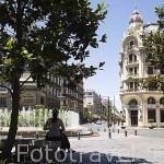 Plaza de Isabel La Catolica. Ciudad de GRANADA. Andalucia. España