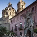 Fachada de la iglesia Santos Justo y Pastor. Ciudad de GRANADA. Andalucia. España