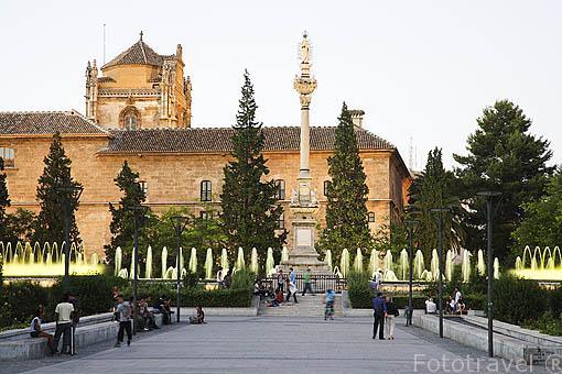 Parque Fuente del Triunfo. Ciudad de GRANADA. Andalucia. España