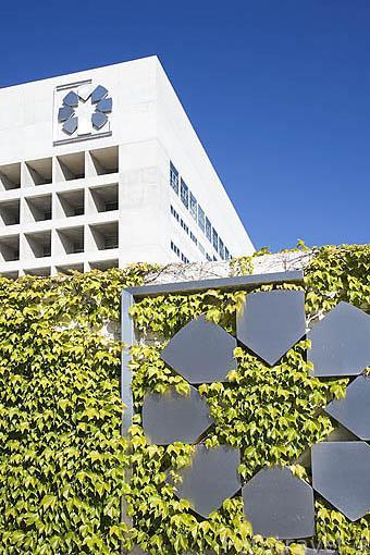 Edificio Caja Granada. Ciudad de GRANADA. Andalucia. España