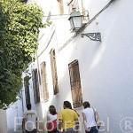 Callejón de Nevot. Barrio del Albaycin. Ciudad de GRANADA. Andalucia. España