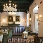 Hotel Parador de la Alhambra. Barrio del Realejo. Ciudad de GRANADA. Andalucia. España