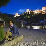 Chicos jugando ala ajedrez. Plazuela de Carvajales. GRANADA. Andalucia. España