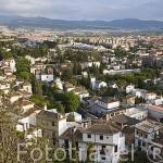 El barrio del Realejo. Ciudad de GRANADA. Andalucia. España