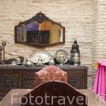 Casa rural el Horno del Oro. Barrio del Albaycin. Ciudad de GRANADA. Andalucia. España