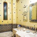 Sala de baño. Casa rural el Horno del Oro. Barrio del Albaycin. Ciudad de GRANADA. Andalucia. España
