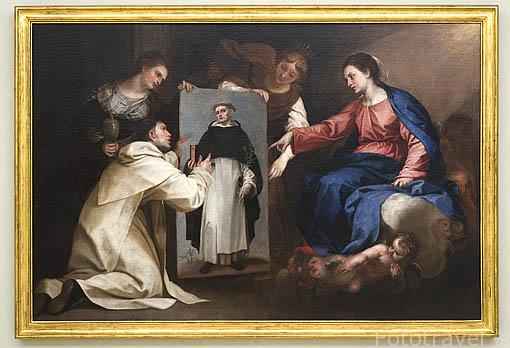 """""""Santo Domingo Soriano"""" por Alonso Cano. Oleo sobre lienzo. Fundación Rodriguez Acosta. Ciudad de GRANADA. Andalucia. España"""
