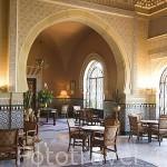 Interior del hotel Alhambra Palace. En Plaza de Arquitecto Garcia de Paredes 1.GRANADA. Andalucia. España