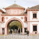 Edificio de Correos en la plaza de España. ANDUJAR. Jaen. Andalucia. España