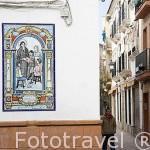 Calle de Guadalupe. ANDUJAR. Jaen. Andalucia. España