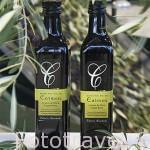 Botellas de aceite extra virgen edición limitada. Almazara de aceite Cooperativa Virgen del Carmen. TORREDONJIMENO. Jaen. Andalucia. España.