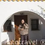 Mercedes Coco en su casa rural Villa Matilde. Sierra de Andujar. Termino de ANDUJAR. Jaen. Andalucia. España