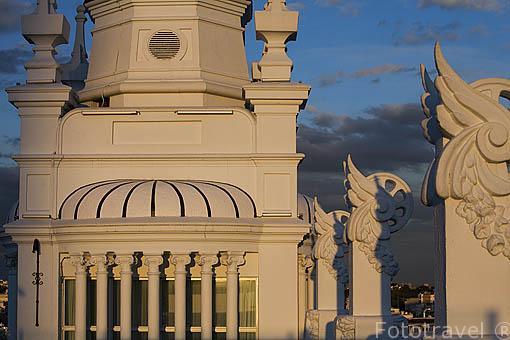 Terraza The Penthouse. En plaza de Santa Ana 14. MADRID. España