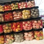Caramelos naturales. Tienda Womo. En Columela 4. MADRID. España