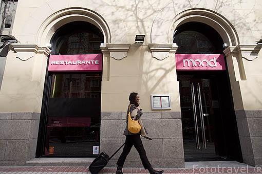 Restaurante Mood. En Velazquez 102. MADRID. España