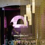 Moderna decoración. Restaurante Mood. En Velazquez 102. MADRID. España