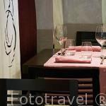 Restaurante Diverxo. En Francisco Medrano 5. Madrid. España