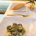 Plato de Alcachofas naturales de Azagra. Restaurante La Manduca de Azagra. En Sagasta 14. Madrid. España