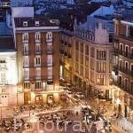 Plaza de Santa Ana. Madrid. España