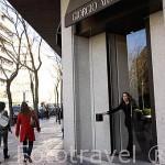 Tienda de Giorgio Armani. Calle José Ortega y Gasset 16. Madrid.