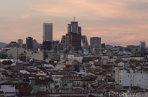 La ciudad de Madrid. España