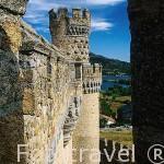 El castillo de Manzanares el Real. s.XV. Pueblo de MANZANARES EL REAL. Comunidad de Madrid. España