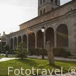 Iglesia Nuestra Señora de las Nieves. s.XIV- XVI. MANZANARES EL REAL. Sierra de Guadarrama. Comunidad de Madrid. España