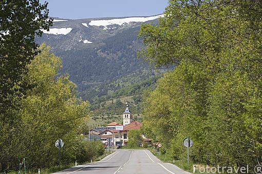 Pueblo de RASCAFRIA. Sierra de Guadarrama. Comunidad de Madrid. España