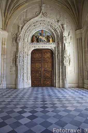 Monasterio de Santa Maria de El Paular. Fundado en 1390 por Juan I de Castilla. Cerca de RASCAFRIA. Sierra de Guadarrama. Comunidad de Madrid. España