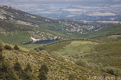 Puerto de la Morcuera. Sierra de Guadarrama. Comunidad de Madrid. España