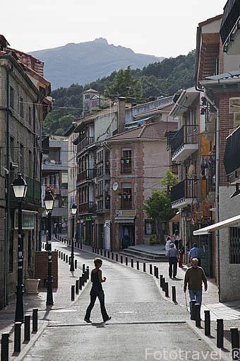 MIRAFLORES DE LA SIERRA. Sierra de Guadarrama. Comunidad de Madrid. España