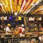 Fiesta de la Paloma en las Vistillas. Ciudad de MADRID. Comunidad de Madrid. España