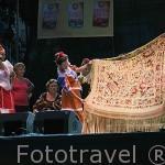 Concurso del mejor manton de manila. Las Vistillas. Ciudad de MADRID. Comunidad de Madrid. España