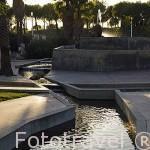 El Jardin Judio. Parque Juan Carlos I. Campo de las Naciones. Madrid. España