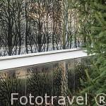 Fachada de la Estufa Fria. Parque Juan Carlos I. Campo de las Naciones. Madrid. España