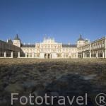 Palacio Real. ARANJUEZ. Comunidad de Madrid. España Spain