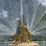 Fuente de Ceres. Jardines del Parterre. ARANJUEZ. Comunidad de Madrid. España Spain