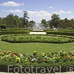 Jardines del Parterre. ARANJUEZ. Comunidad de Madrid. España Spain