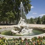 Fuente de la Boticaria. Jardin de la Isla. Palacio de ARANJUEZ. Comunidad de Madrid. España Spain